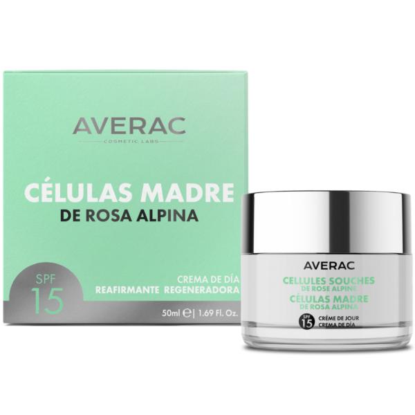 CÉLULAS MADRE DE ROSA ALPINA Averac Cosmetics